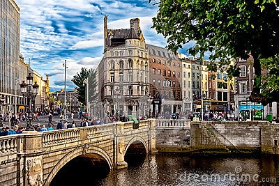 Dublin Ireland Editorial Stock Photo