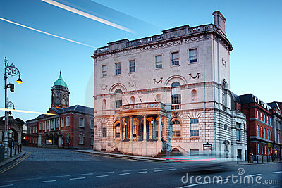 Dublin Ireland biura tempa