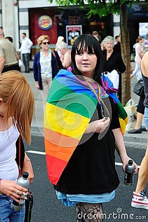 Dublin LGBTQ Pride Festival 2010 Editorial Image