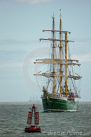 Dublin Tall Ship races 2012 Editorial Image