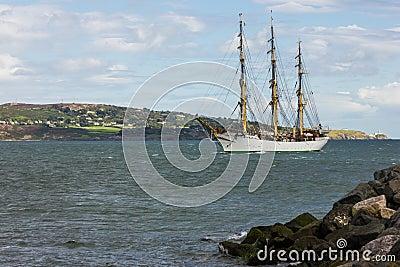 Dublin Tall Ship races 2012 Editorial Stock Image