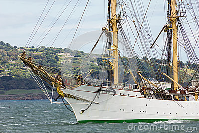Dublin Tall Ship races 2012 Editorial Stock Image