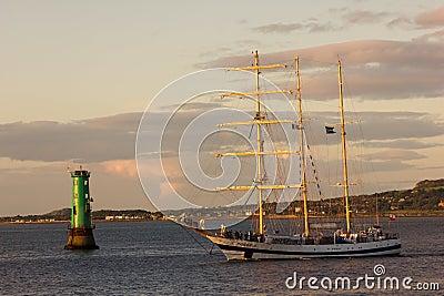 Dublin Tall Ship races 2012 Editorial Stock Photo