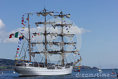 Dublin Tall Ship races 2012 Editorial Photography