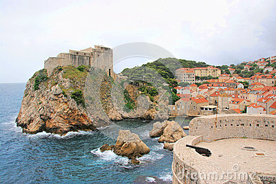 Dubrovnik Croatia Editorial Photography