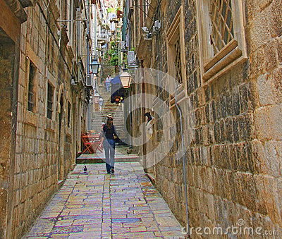 Dubrovnik Croatia Editorial Stock Image