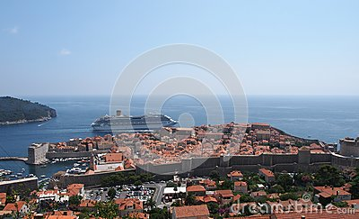 Dubrovnik, Croatie Image éditorial