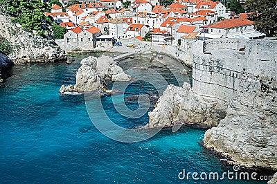 Dubrovnik gammal Town