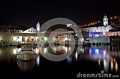 Dubrovnik by night - Croatia