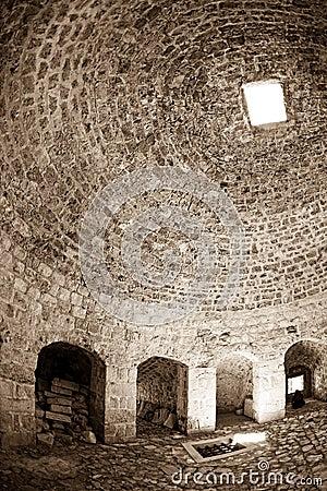 Dubrovnik old town - fortress Bokar