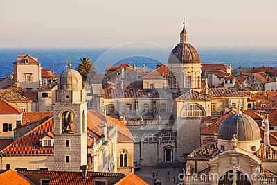 Dubrovnik Old Town roofs