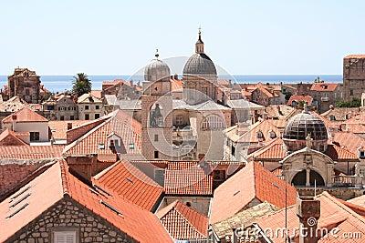 Dubrovnik skyline Croatia