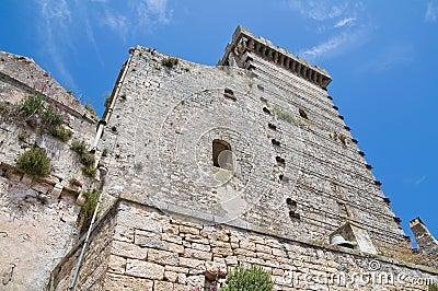 Ducal castle. Ceglie Messapica. Puglia. Italy.