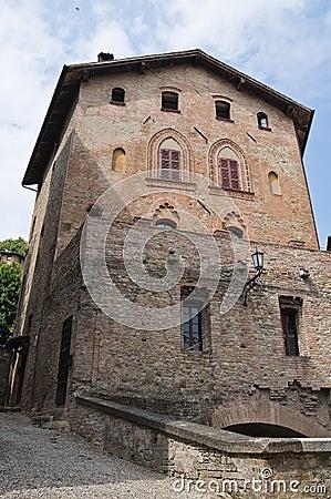 Ducal Palace. Castell arquato. Emilia-Romagna.