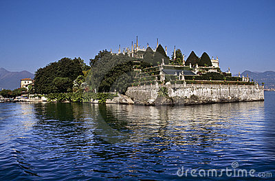 Ducal palace Gardens, Isola Bella, Lake Maggiore