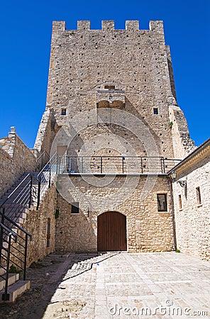 Ducal Palace. Pietramontecorvino. Puglia. Italy.