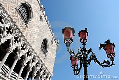 The Ducal Palace in Venice, Italy