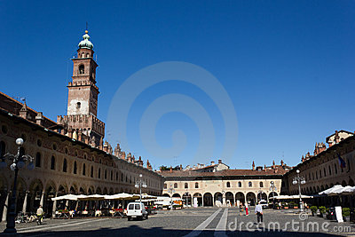 Ducal Square (Vigevano) Editorial Image