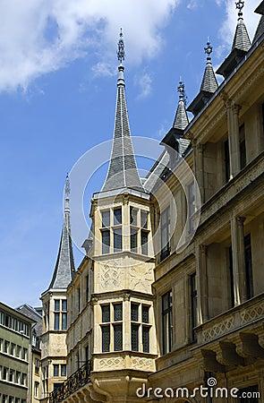 Ducal storslagen luxembourg slott