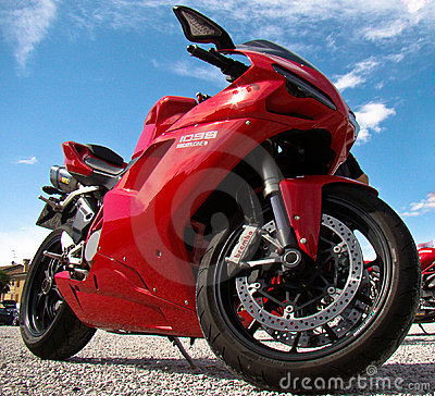 Ducati motorcycle Editorial Stock Photo