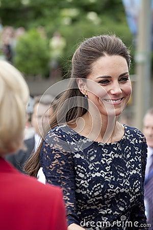 Duchess of Cambridge - Kate Middleton Editorial Photo