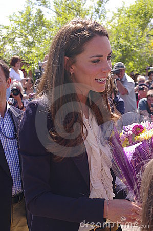 Duchess of Cambridge - Kate Middleton Editorial Image