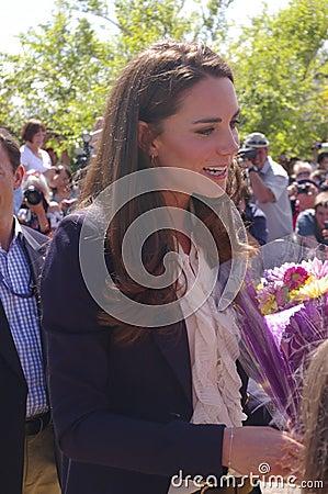Duchess of Cambridge - Kate Middleton Editorial Image