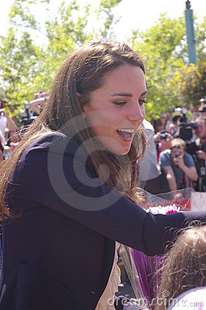 Duchess of Cambridge - Kate Middleton Editorial Stock Image