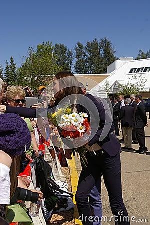 Duchess of Cambridge - Kate Middleton Editorial Stock Image