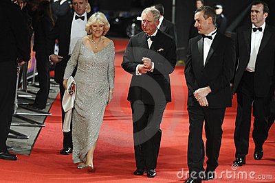 Duchess of Cornwall, Prince Charles Editorial Stock Image