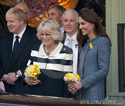 Duchess of Cornwall, Queen Editorial Photography