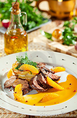 Free Duck Breast Royalty Free Stock Photo - 21128175