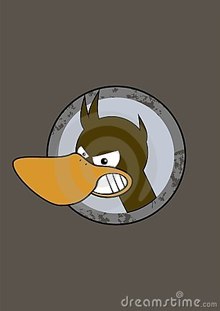Free Duck Illustration Stock Photography - 2519562