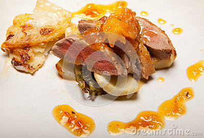 Duck A L'orange Stock Photography - Image: 29362092