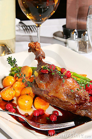 Free Duck Meal Royalty Free Stock Photo - 12256785