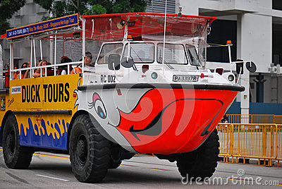 Duck Tour Amphibious Ride Editorial Image