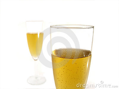 Due vetri di champagne