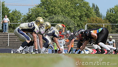 Duesseldorf Panther v Dresden Monarchs, Editorial Photography