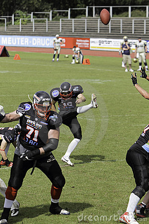 Duesseldorf Panther v Dresden Monarchs, Editorial Photo