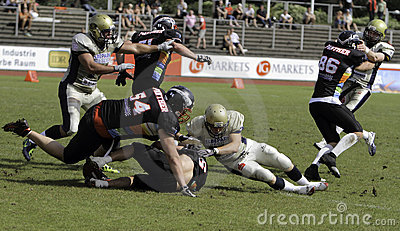 Duesseldorf Panther v Dresden Monarchs, Editorial Stock Photo