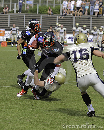 Duesseldorf Panther v Dresden Monarchs, Editorial Image