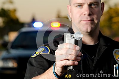 dui breath machine in car
