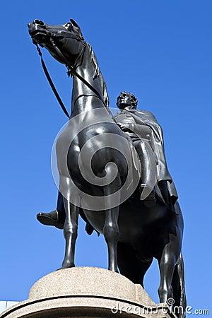 Duke of Wellington Statue at Bank of England