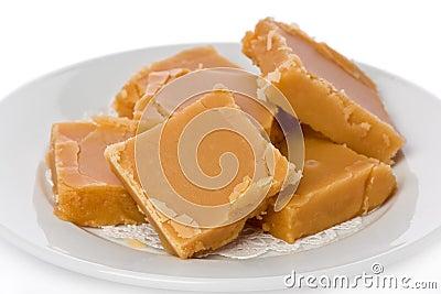 Dulce de azúcar hecho en casa