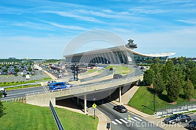 Dulles International Airport Editorial Stock Photo