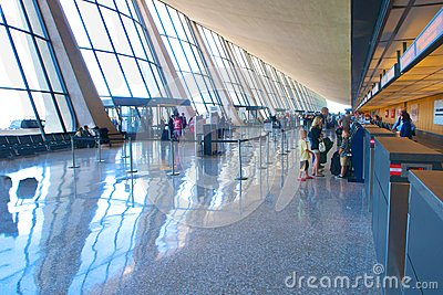 Dulles International Airport Editorial Stock Image