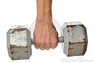 Dumbbell Royalty Free Stock Photo - Image: 21370585