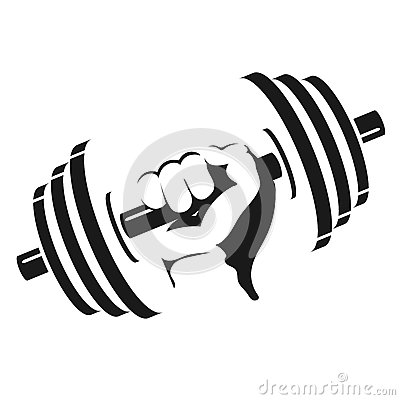 Free Dumbbell In Hand Royalty Free Stock Photo - 84834595