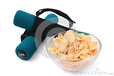 Dumbbells and cornflakes