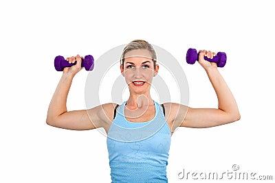 Dumbell exercises